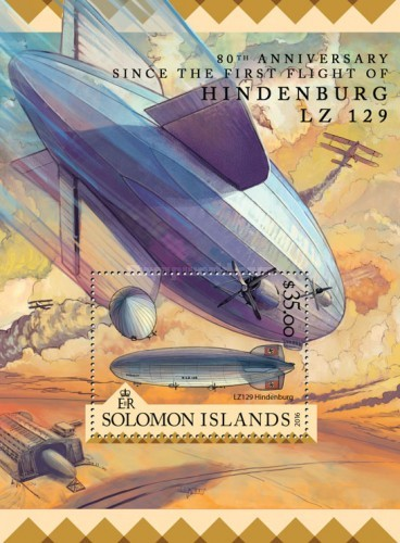 [Transportation - The 80th Anniversary Since the First Flight of the LZ 129 Hindenburg, Typ ]