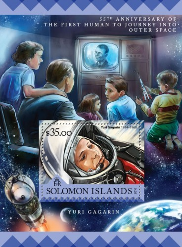 [The 55th Anniversary of the First Human to Journey Into Outer Space, Typ ]