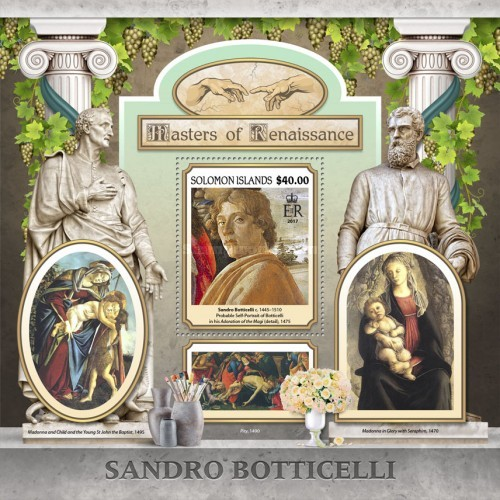 [Paintings - Masters of Renaissance - Sandro Boticelli, 1445-1510, type ]