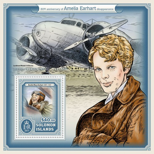 [The 80th Anniversary of the Disappearance of Amelia Earhart, 1897-1937, type ]