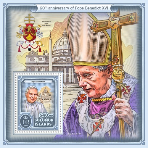 [The 90th Anniversary of the Birth of Pope Benedict XVI, type ]