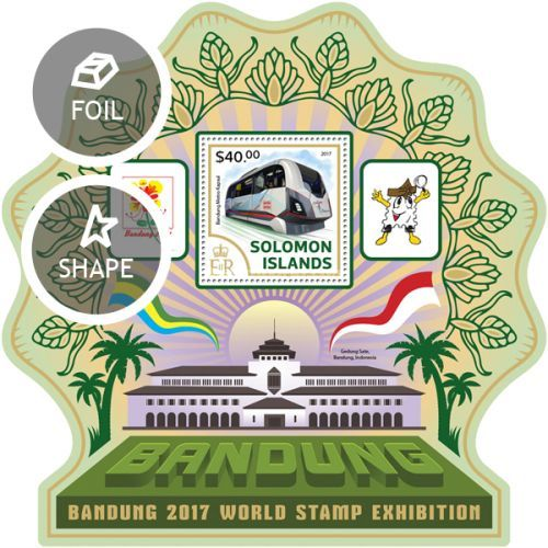 [International Stamp Exhibition BANDUNG 2017, type ]