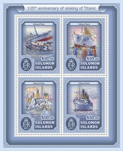 [The 105th Anniversary of Sinking of Titanic, type ]