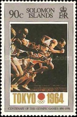 [The 100th Anniversary of Modern Olympic Games, type ACN]