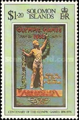 [The 100th Anniversary of Modern Olympic Games, type ACO]