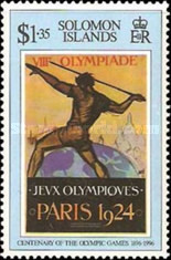 [The 100th Anniversary of Modern Olympic Games, type ACP]