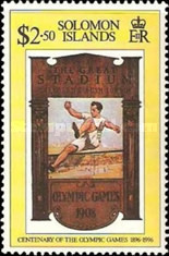 [The 100th Anniversary of Modern Olympic Games, type ACQ]