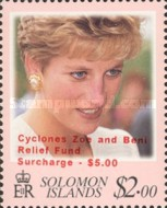[Cyclones Zoe and Beni Relief Fund - Surcharged, Typ ADZ2]