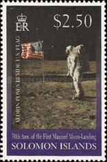 [The 30th Anniversary of First Manned Landing on Moon, type AFH]