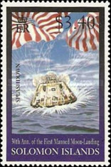 [The 30th Anniversary of First Manned Landing on Moon, type AFI]