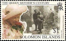 [The 99th Anniversary of the Birth of Queen Elizabeth the Queen Mother, 1900-2002, type AFK]