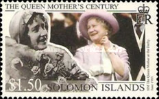 [The 99th Anniversary of the Birth of Queen Elizabeth the Queen Mother, 1900-2002, type AFL]