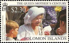 [The 99th Anniversary of the Birth of Queen Elizabeth the Queen Mother, 1900-2002, type AFM]