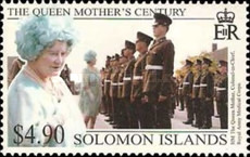 [The 99th Anniversary of the Birth of Queen Elizabeth the Queen Mother, 1900-2002, type AFN]
