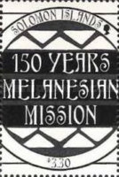 [Christmas - The 150th Anniversary of Melanesian Mission, type AFV]