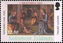 [Christmas - Religious Paintings, Typ AJF]