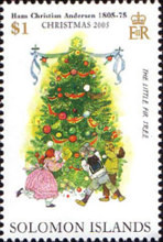 [Christmas - The 200th Anniversary of the Birth of Hans Christian Andersen, 1805-1878, Typ APN]