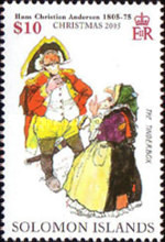 [Christmas - The 200th Anniversary of the Birth of Hans Christian Andersen, 1805-1878, Typ APR]