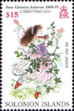 [Christmas - The 200th Anniversary of the Birth of Hans Christian Andersen, 1805-1878, Typ APS]