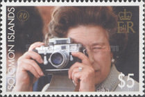 [The 80th Anniversary of the Birth of Queen Elizabeth II, type AQC]