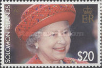 [The 80th Anniversary of the Birth of Queen Elizabeth II, type AQD]