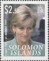 [The 10th Anniversary of the Death of Princess Diana, 1961-1997, Typ AST]