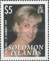 [The 10th Anniversary of the Death of Princess Diana, 1961-1997, Typ ASU]