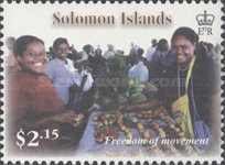 [The 5th Anniversary of RAMSI on the Solomon Islands, Typ ATP]