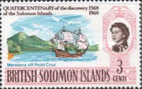 [The 400th Anniversary of Discovery of the Solomon Islands, Typ BR]