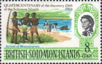 [The 400th Anniversary of Discovery of the Solomon Islands, Typ BS]
