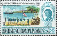 [The 400th Anniversary of Discovery of the Solomon Islands, Typ BU]