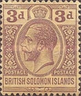 "[King George V - Inscribed ""POSTAGE POSTAGE"", type C2]"