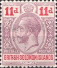 "[King George V - Inscribed ""POSTAGE POSTAGE"", type C3]"