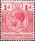 "[King George V - Inscribed ""POSTAGE REVENUE"", type C5]"