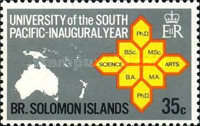 [Inaugural Year of South Pacific University, Typ CK2]
