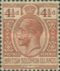 "[King George V - Inscribed ""POSTAGE REVENUE"", type D6]"