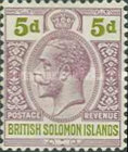 "[King George V - Inscribed ""POSTAGE REVENUE"", type D7]"