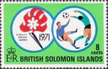 [South Pacific Games, Tahiti, type DK]