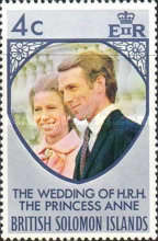 [Royal Wedding of Princess Anne and Mark Phillips, type ET]