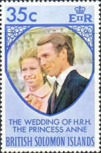 [Royal Wedding of Princess Anne and Mark Phillips, type ET1]