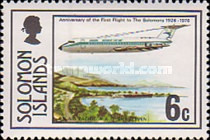 [The 50th Anniversary of First Flight to Solomon Islands, type GU]