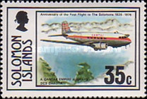 [The 50th Anniversary of First Flight to Solomon Islands, type GW]
