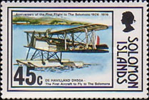 [The 50th Anniversary of First Flight to Solomon Islands, type GX]