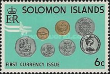 [Introduction of Solomon Islands Coins and Bank-notes, type HP]