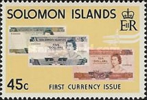 [Introduction of Solomon Islands Coins and Bank-notes, type HQ]