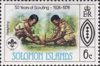 [The 50th Anniversary of Scouting in Solomon Islands, type IH]
