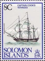 [The 200th Anniversary of of Captain James Cook's Voyages, 1768-1979, type IL]