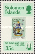 [The 100th Anniversary of the Death of Sir Rowland Hill, 1795-1879, type IZ]