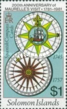 [The 200th Anniversary of Maurelle's Visit and Production of Bauche's Chart, 1791, Typ KX]