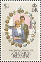 [The Royal Wedding of Prince Charles and Lady Diana Spencer, type LK]